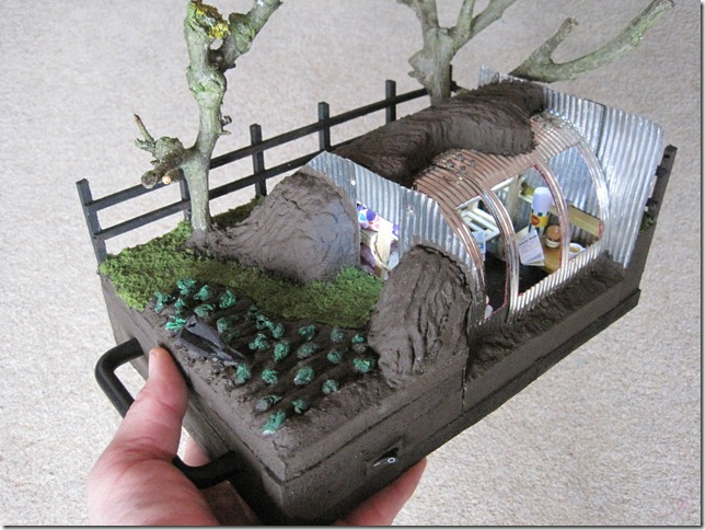 Build A Model Anderson Shelter