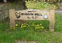 All about the Biggin Hill signs